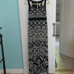 NWOT WHBM maxi dress